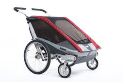 Thule Chariot Cougar Single Stroller - Red