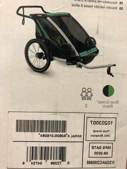 Thule Chariot Lite 2 Sport Stroller, Bluegrass/Black