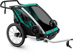 Thule Chariot Chariot Lite Stroller Blue Grass/Black, 1-2 Ki