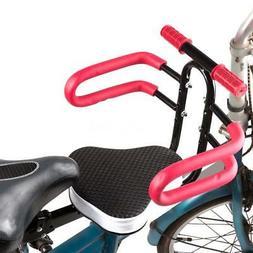 Child Bike Seat Front Mount Toddler Secure Bike Seat Carrier