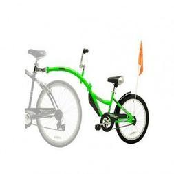 Child Bike Trailer Outdoor Green Bicycle Tandem Take2 Seat K