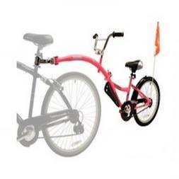 Child Bike Trailer Outdoor Pink Bicycle Tandem Take 2 Seat K