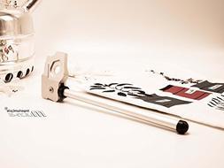 Multi-S Full CNC'd Aluminum Kickstand for Brompton Folding B