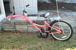 WeeRide Co-pilot 20 inch Bike Trailer Pink
