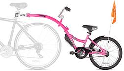 WeeRide Co-Pilot Bike Trailer, Pink