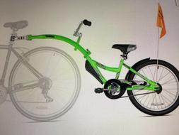 WeeRide  Co-Pilot Bike Trailer-green-NEW