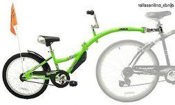 Co-Pilot Bike Trailer Tag Along Bicycle Rear Follow Child Pe