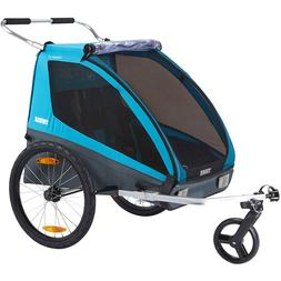 Thule Coaster XT 2 Bicycle Trailer Transport Trailer Pushcha