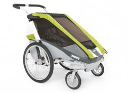 Thule Chariot Cougar 1 Stroller with Strolling Kit Avocado,
