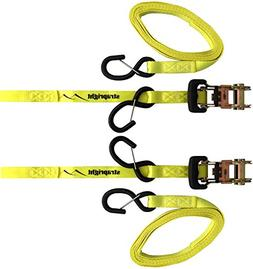 D Rings - Heavy Duty 4 Pack 6000 Pound Breaking Strength. Su
