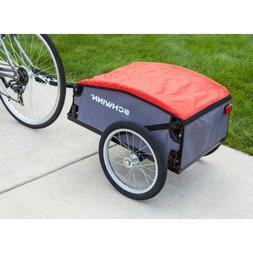 Schwinn Daytripper Cargo Trailer Gray/Red Bike Storage Carri