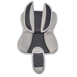 Burley Design Deluxe Trailer Seat Pads, Grey, One Size