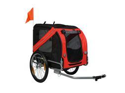 Dog Bike Trailer Pet Cat Bicycle Carrier Stroller Jogger Sho