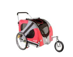 DoggyRide Original Dog Jogger-Stroller, Urban Red