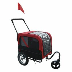 Dog Stroller For Small Dogs Pet Bike Trailer Bicycle Hitch 2