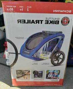 Schwinn Double Seater bike trailer NEW IN BOX