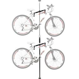 Double Vertical Bicycle Storage Hanger Rack for Garages or A