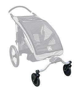 dual swivel wheel attachment