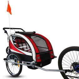 Aosom Elite Pet Dog Bike Trailer Bicycle Trailer Stroller Jo