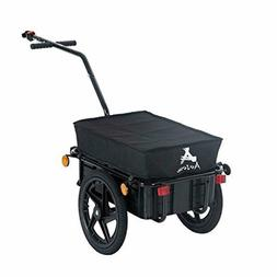 Aosom Enclosed Bicycle Cargo Trailer Sturdy wheels Waterproo