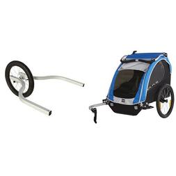 BURLEY ENCORE WITH DOUBLE JOGGER KIT