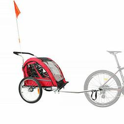 CyclingDeal Foldable Bicycle Bike Baby Children Kids Trailer