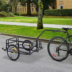 Folding Bicycle Bike Cargo Storage Cart and Luggage Trailer