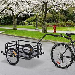 folding bike cargo trailer cart