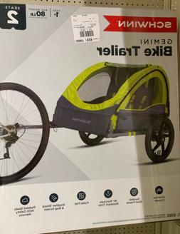 Schwinn Gemini Bike Trailer for kids. Fast Shipping!!!
