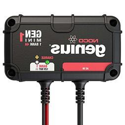 NOCO Genius GENM1 4 Amp 1-Bank Waterproof Smart On-Board Bat