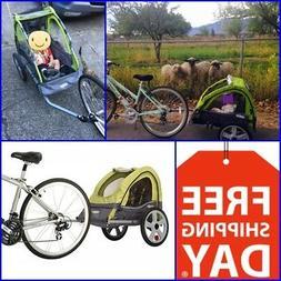Good Quality Large Bike Trailer Pet Bicycle Stroller Dog Kid