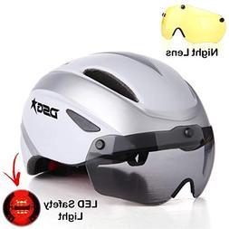 DSG Adult Helmet for Mens & Womens - 2 Detachable Magnetic V