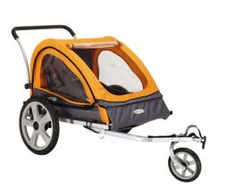 INSTEP QUICK N EZ DOUBLE BIKE BICYCLE TRAILER STROLLER BABY