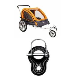 InStep Quick N EZ Double Bicycle Trailer and Trailer Coupler