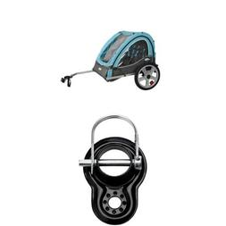 InStep Take 2 Double Bicycle Trailer and Trailer Coupler Att