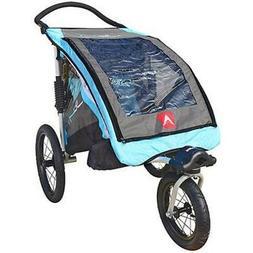 Allen Sports JTX1 Aluminum 1-Child Trailer/Swivel Wheel Jogg