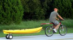 Kayak Tow Bar, Bicycle Tow Bar, SUP, Kayak Trailer, Dumb Sti