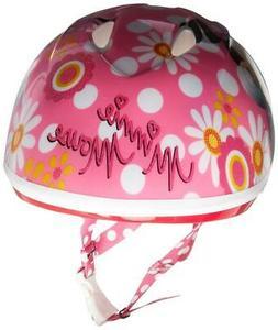 Kids Helmet Minnie Mouse Head Safe Toddler Child Cycling Bik