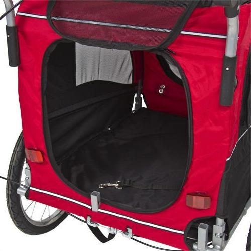 2 IN 1 Dog Bike Trailer Suspension