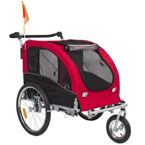 Dog Trailer Bicycle Trailer w/