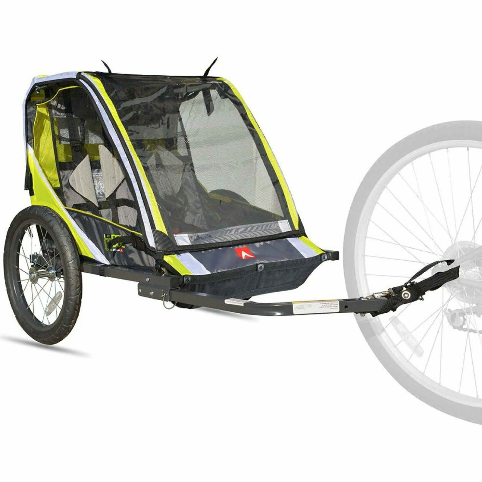 allen sport deluxe 2 child bike trailer
