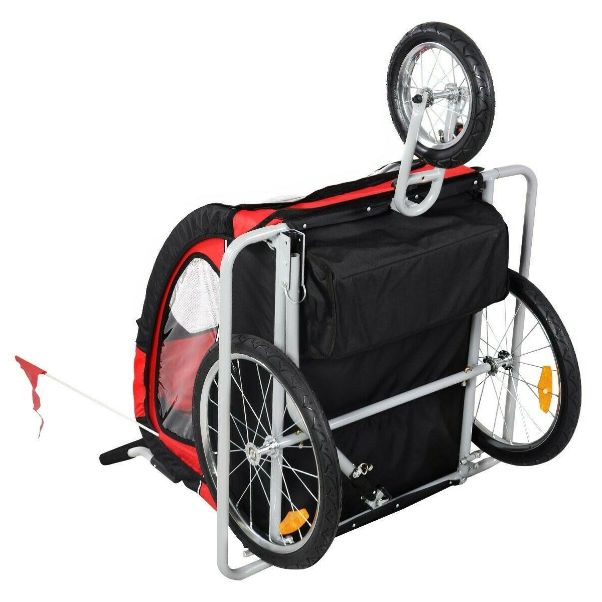 2 1 Bicycle Carrier Infant Jogger