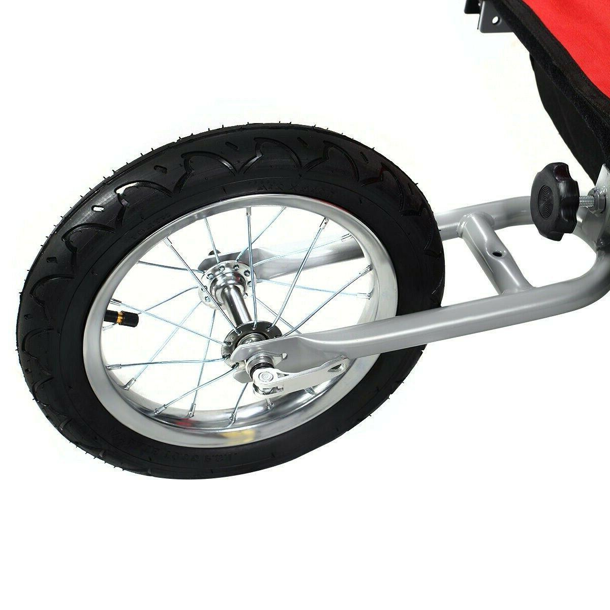 Bicycle Carrier Double Child Jogger