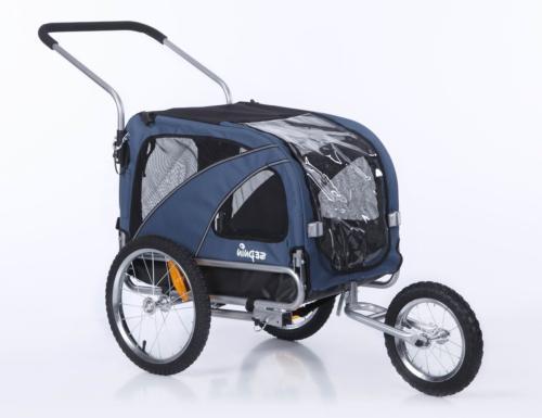 Sepnine 2 in1 Medium pet Dog Bike Trailer Bicycle Carrier an