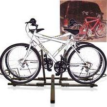 """New 2 Mountain Bike Hitch Rack Carrier 2"""" Rear for SUV VAN T"""