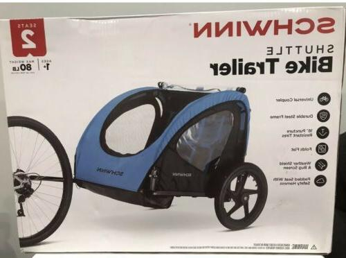 2 seater shuttle bike trailer fast handling