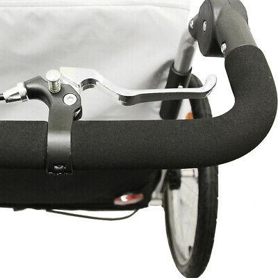 Clevr 3-in-1 Double Seat Stroller Jogger for
