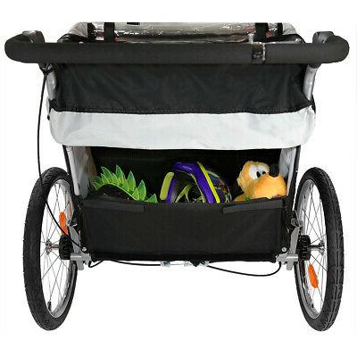 ClevrPlus Deluxe 3-in-1 Seat Bike Jogger
