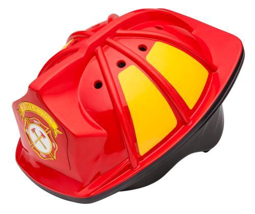 3 toddler fireman bike helmet