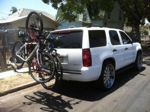 HD 4 BICYCLE RACK Trailer BIKE Car & Truck SUV Van